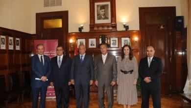 """صورة بنك مصر يوقع بروتوكول تعاون مع """"جامعة 6 أكتوبر"""" لتوفير خدمات الدفع الإلكتروني"""