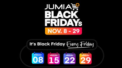 """صورة جوميا"""" تطلق أكبر حملة تخفيضات خلال موسم البلاك فرايدي – BLACK FRIDAY"""