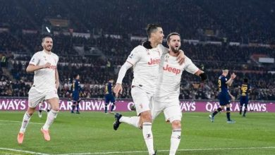 """صورة """"يوفنتوس"""" يتخطي """"روما"""" ويتصدر الدوري الإيطالي"""