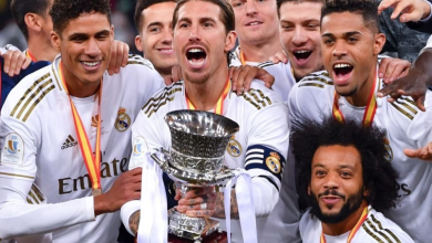"""صورة """"ريال مدريد"""" يسرق """" السوبر الإسباني"""" من أتليتكو مدريد"""