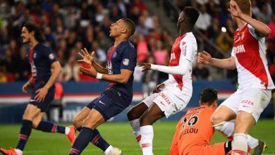"""صورة موناكو يوقف """"قطار"""" باريس سان جيرمان بالتعادل"""