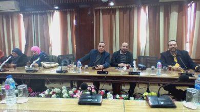 صورة وصول الوفد الصحفى المنصورة انتظارا لوزير الاتصالات