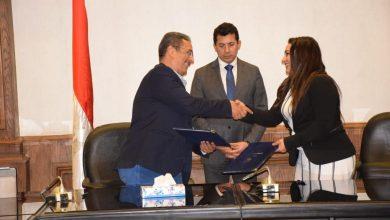 صورة وزير الرياضة يشهد اتفاقية تعاون بين الاتحاد المصرى للالعاب الإلكترونية و ايجى جيت