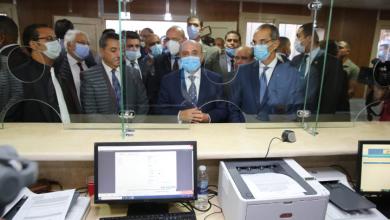 صورة بحضور وزيرى العدل والاتصالات :  اطلاق نظام تجديد الحبس الاحتياطي عن بعد