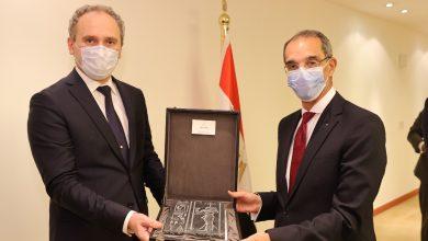 صورة وزير الاتصالات  يبحث مع سفير بيلاروسيا بالقاهرة التعاون بين البلدين في  التحول الرقمي