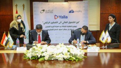 """صورة البريد المصري يوقع بروتوكول تعاون مع  """"باي سكاي"""" في مجال الخدمات المالية الرقمية"""