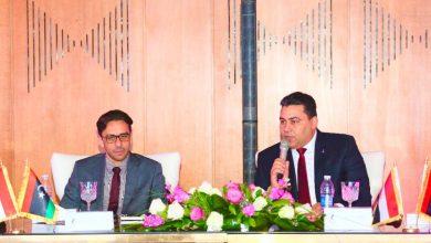 صورة المصرية للاتصالات تستقبل وفدا ليبيا لبحث سبل التعاون بين الجانبين في مجال الاتصالات