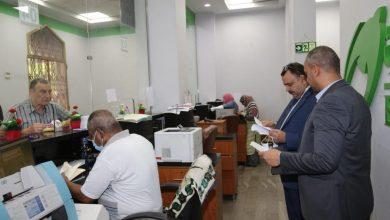 صورة حملة موسعة لمتابعة حركة سير العمل بجميع مكاتب البريد على مستوي الجمهورية