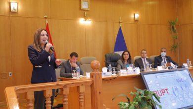 صورة غادة لبيب : مصر تسير بخطى ثابتة فى كل الملفات لتحسين حياة المواطنين
